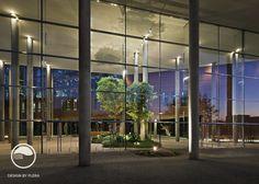 #landcape #architecture #garden #public #space #atrium