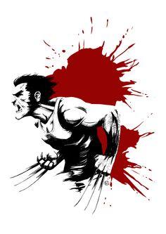 Wolverine by Rosy Higgins