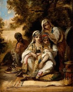 Young Women in Turkish Costume 1862 Artist:Narcisse Virgile Diaz de la Pena