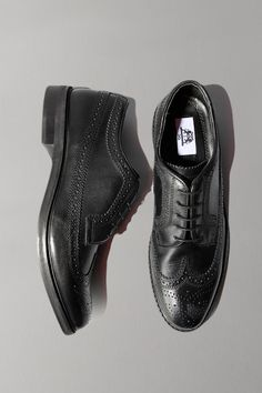 UO Leather Brogue: Men's party shoes! $68