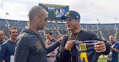 Derek Jeter pens letter to Michigan football team about RE2PECT