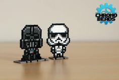 Star Wars Star Wars Day Darth Vader Stormtrooper by ChronoBeads