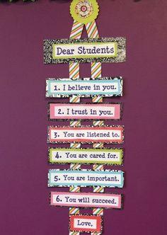 dear students, teachers promise to kids Bulletin Board from classroom Creative Bulletin Boards, Classroom Bulletin Boards, Classroom Rules, Classroom Setting, Classroom Design, School Classroom, Classroom Themes, Classroom Organization, Future Classroom