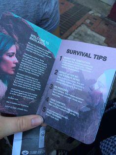 Halsey: Survival Tips. Halsey: Survival Tips. Hopeless Fountain Kingdom, Everything Is Blue, You're Beautiful, My Chemical Romance, Music Lyrics, Survival Tips, Music Stuff, Music Is Life, Music Bands