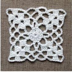 Crochet Easy Motif Making 3 - örgü motif - Granny Square Häkelanleitung, Granny Square Crochet Pattern, Afghan Crochet Patterns, Crochet Squares, Crochet Motif, Crochet Doilies, Crochet Flowers, Crochet Stitches, Filet Crochet