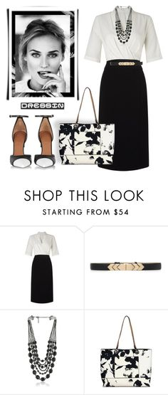 """""""Untitled #1115"""" by mrsdarlene ❤ liked on Polyvore featuring John Lewis, White House Black Market and Givenchy"""