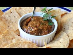 Food Wishes Video Recipes: Fire-Roasted Cherry Tomato Salsa (Scroll down for recipe.)