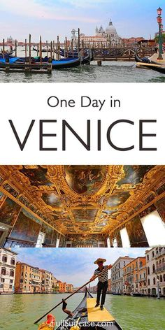 One day in Venice, Italy - see St Mark's Square, Basilica, and Campanile, Doge's Palace, Grand Canal, Rialto Bridge and more. Find out!