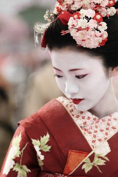 Maiko Umeraku. 2011, Japan. Photography by Michael Chandler on Flickr
