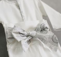 Conjunto de pantalón y body de algodón orgánico