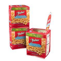 Peanut Package Combines Rigid Functionalities with Flexible Savings