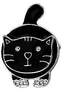 Pouncing Cat Pin at The Animal Rescue Site