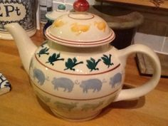 Emma Bridgewater Farmyard Four Cup Teapot SAMPLE for Collectors Day