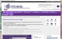 Ressources d'accompagnement pour la mise en oeuvre des programmes - http://eduscol.education.fr/pid25509/ressources-accompagnement.html