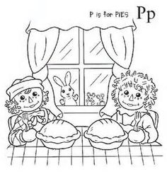 Ann Page Raggedy Coloring Book - Bing Images