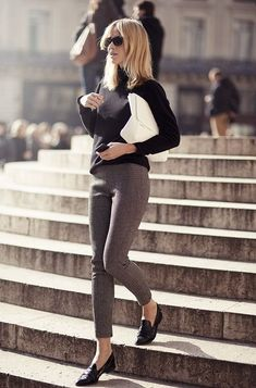 Office Wear Ideas And Work Pants For Women 2018 | FashionTasty.com