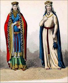10th century english dress style