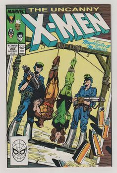 Uncanny X-Men V1 236.  NM. October 1988.  by RubbersuitStudios #xmen #comicbooks
