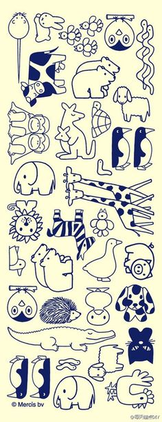 Animal doodling...