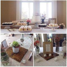 Cute wedding decor from my friends wedding :)
