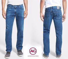 NWT $225 AG ADRIANO GOLDSCHMIED GRADUATE CALDERA JEANS. MADE IN USA. SZ 30 X 34…