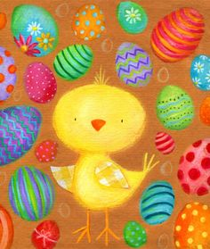 Ileana Oakley - Easter chick eggs flowers 200.jpg