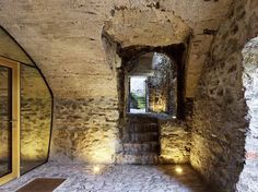 Gallery of Stone House Transformation in Scaiano / Wespi de Meuron Romeo architects - 1