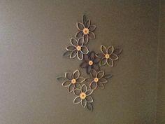 Sunflower Toilet Paper Art