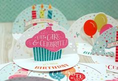 It's Your Birthday Circle Card by Betsy Veldman for Papertrey Ink (March 2015)