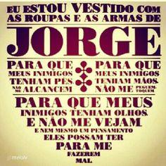 Armadura poderosa de São Jorge