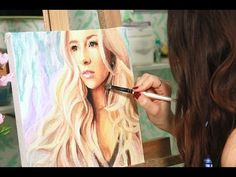 Speed Painting : Evelina