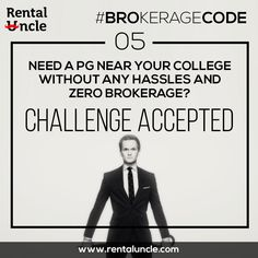 Need a PG near your college without any hassles and zero brokerage.