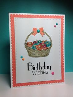 A Basket full, Clearly Besotted, by beesmom - Cards and Paper Crafts at Splitcoaststampers