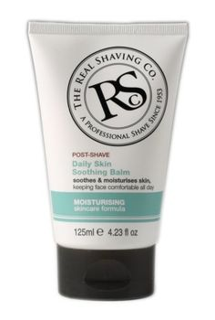 The Real Shaving Co. Post Shave Soothing Balm, Moisturising, 4.23 oz. by THE REAL SHAVING CO.. $6.95. Professional shave & skincare since 1953. Professional formula. Helps condition, soothe and moisturize skin, keeping face comfortable for longer. Moisturising skincare formula. Real shaving: a few easy steps - and just feel the difference! Real shaving. Real benefits. Real results. Made in England.