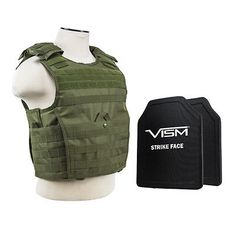 Vests 178080: Ncstar Bpcvpcvx2963g-A Expert Carrier Vest With 10 X 12 Pe Hard Plates Green -> BUY IT NOW ONLY: $359.95 on eBay!