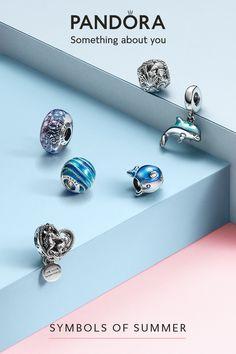 Pandora Bracelet Charms, Pandora Jewelry, Pandora Pandora, Charm Bracelets, Ocean Jewelry, Cute Jewelry, Sparkly Jewelry, Uncut Diamond, Antique Jewelry
