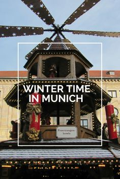 Christmas Market, long walks in frozen English Garden and everything else you need to know about traveling in winter in Munich.