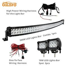 Cheapest Led Light Bar Prime choice auto parts plbar06018gx10 set of 10 6 inch 18w led spot sldx 288w 50inch off road curved combo led light bar 2pcs 18w spot light bar free audiocablefo