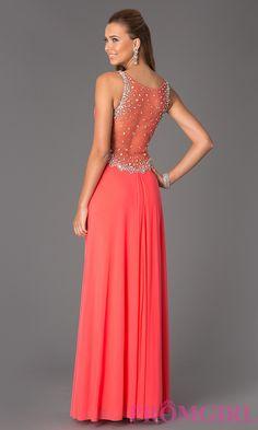 Sleeveless V-Neck Floor Length JVN by Jovani Dress #promgirl #dress #prom #preview