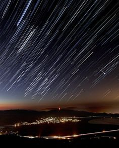 Night sky watcher William Berry sent in a photo of a Perseid meteor at Slide Mountain over Washoe Valley, NV. He says the image is a wide angle stack of about 1 hour, 30 second exposures, and he brightened the meteor trail a bit.