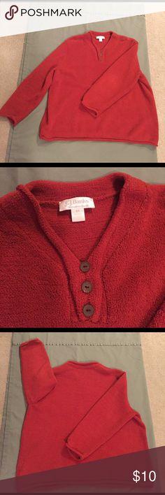 CJ Banks orange fleece-like shirt - plus size CJ Banks fleece-like shirt. Super fuzzy, super soft, and very comfy! 68% polyester; 18% acrylic; 14% rayon. Rolled collar, bottom, and sleeves. C.J. Banks Tops