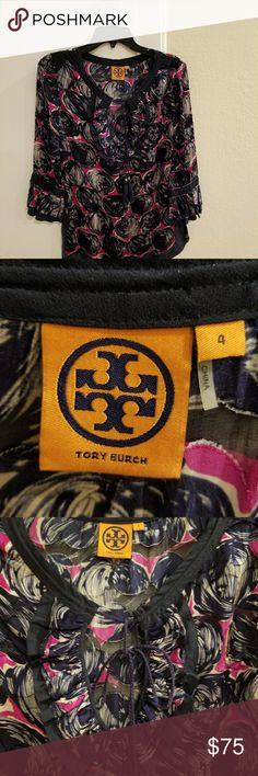 Tory Burch tunic. NWOT NWOT Blue, Red and White Tory Burch tunic. Tory Burch Tops Tunics