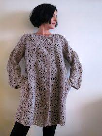 Super Ideas for crochet granny square coat pattern afghans Crochet Baby Socks, Gilet Crochet, Crochet Winter, Crochet Jacket, Crochet Cardigan, Crochet Granny, Crochet Shawl, Diy Crochet, Crochet Clothes