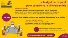 Visuel sur le budget participatif