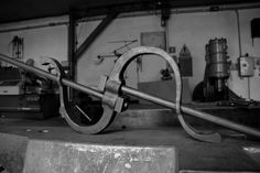 hand forged. blacksmith