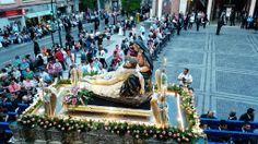 #ViernesSanto #Alcantarilla Salida del Santísimo Cristo de la Piedad #SSALCANTARILLA