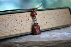 Mens Jewelry  Rustic Rugged Stone Necklace for Man  by letemendia, $37.00
