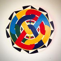 #geometric #art #tembe #bushinengue #colors #colorful