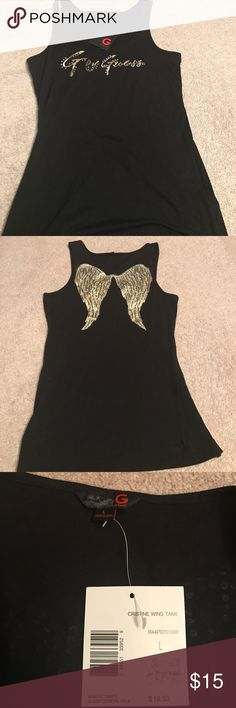 G by Guess Christine Wing Tank NWT never worn. G by Guess Tops Tank Tops