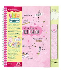 Friends Scrap & Stuff Book Set by American Girl Crafts #zulily #zulilyfinds